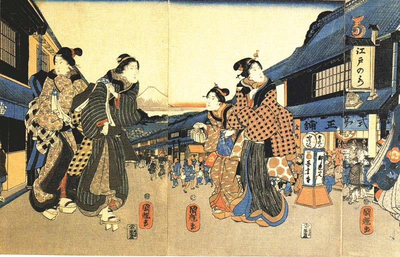 江戸時代の縞柄 | 亀田縞